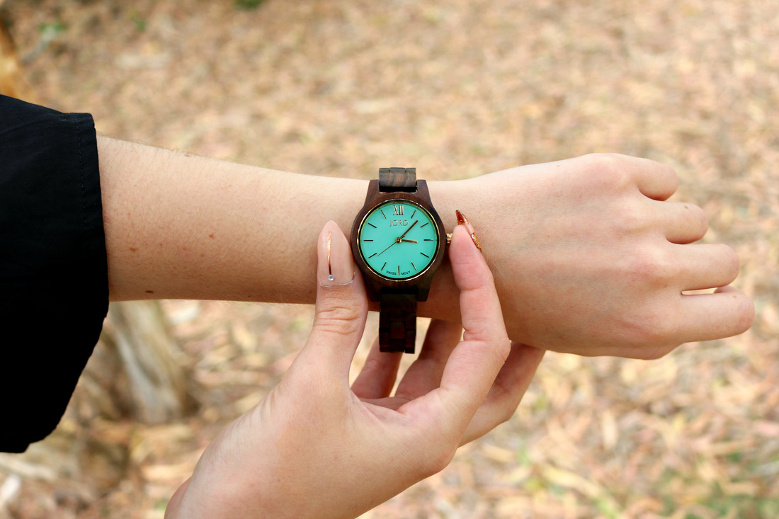 Wooden Wristwatch Jord Fashion
